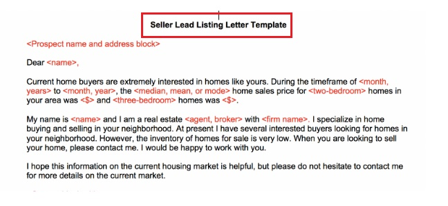 Sample Letter to Buy a House That Is Not For Sale
