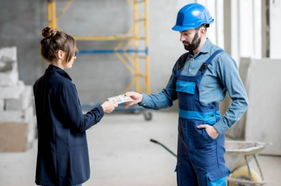 paying to a contractor